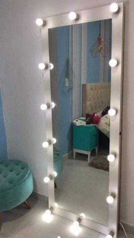 Espelho Camarim Corpo Todo Casa Salão de Beleza - Foto 6