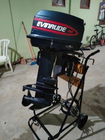 Motor popa Everund 30HP Elétrico  - Foto 11