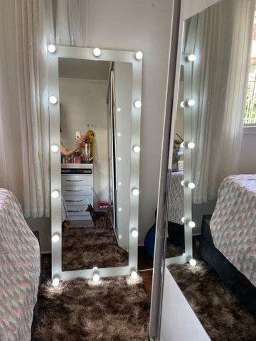 Espelho Camarim Corpo Todo Casa Salão de Beleza - Foto 5