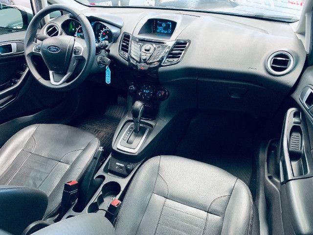 Ford / New Fiesta Titanium Hatch 1.6 Flex (Automático + Couro) - Foto 11
