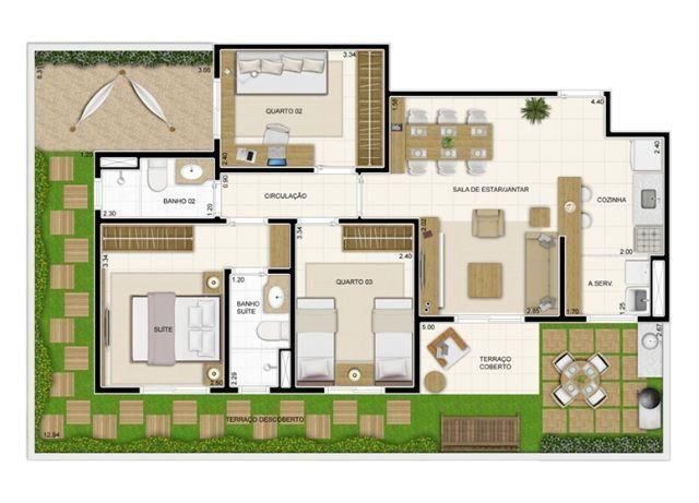 Apartamento em Nova Parnamirim última unidade disponível