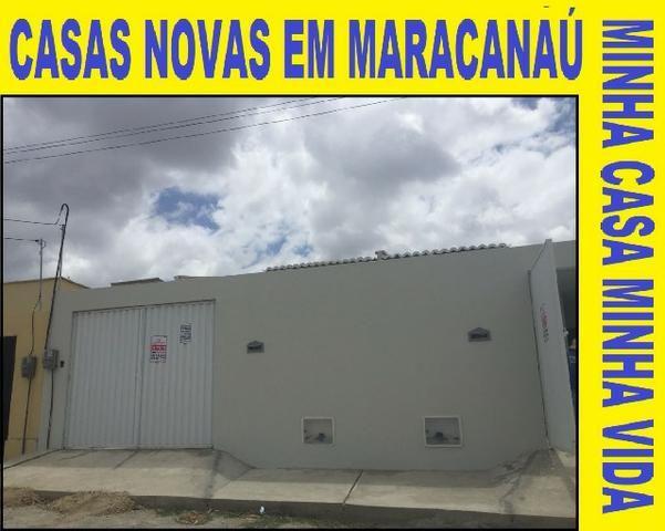 Casas Novas em Maracanaú Próximas ao Forun e á Poucos Minutos do Shopping