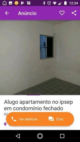 Alugo apartamento no ipsep em condomínio fechado