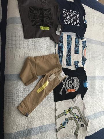 3538aa141 Lote de roupinhas importadas novas - Roupas e calçados - Vila ...