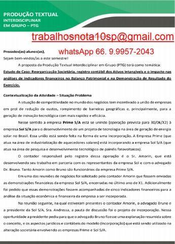 Assessoria e Assistência Acadêmica Empresa Prime S/A e Empresa Sol S/A - Foto 3
