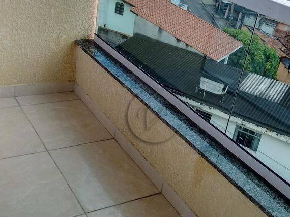 Cobertura residencial à venda, jardim progresso, santo andré - co0121. - Foto 3