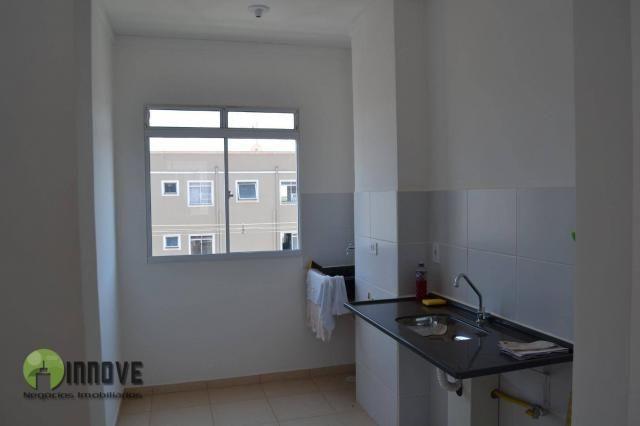 Apartamento com 2 dormitórios para alugar, 50 m² por r$ 700/mês - condomínio vitta - sertã - Foto 3