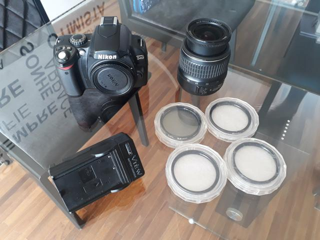 Nikon D40 em perfeito estado