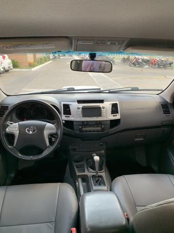 HILLUX 2012 SRV 3.0 automática ESTADO DE ZERO! - Foto 11