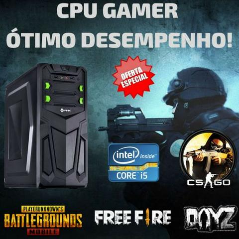 Cpu gamer 8gb pra emulador android Free fire lol pb csgo gta5 autocad corel photoshop - Foto 2