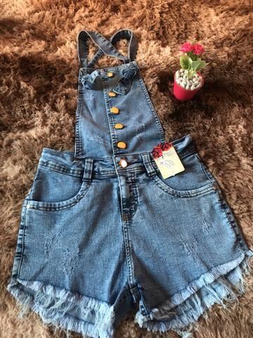 Macaquinhos em tecido 55$ jeans 60$ - Foto 3