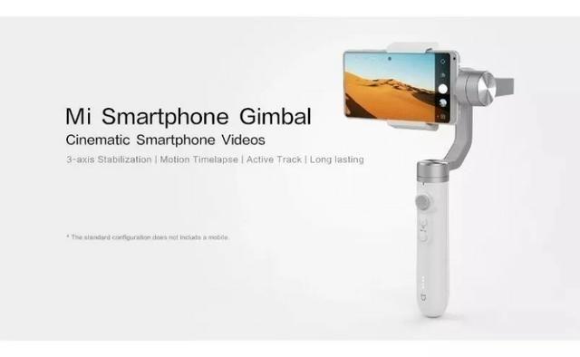 Estabilizador Gimbal Xiaomi Mijia 3 Eixos Para Celulares - Foto 2