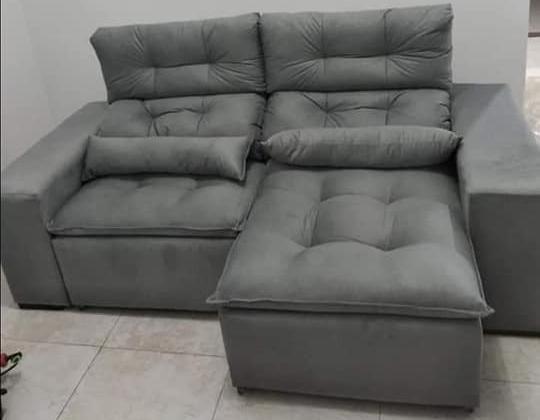 Retrátil e reclinável com pillow - 2.00m de comprimento - Promoção Imperdível