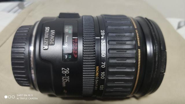 Lente Canon Ef 28mm 135 mm F/3.5-5.6 mm - Foto 5