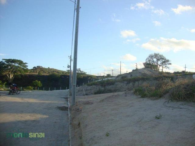 Terreno à venda, 367 m² por R$ 57.000,00 - Condomínio Privê Portal do Agreste - São João/P - Foto 3