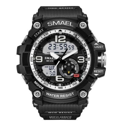 Relógio S-shock Militar Masculino Resistente Esportivo Robusto - Foto 3