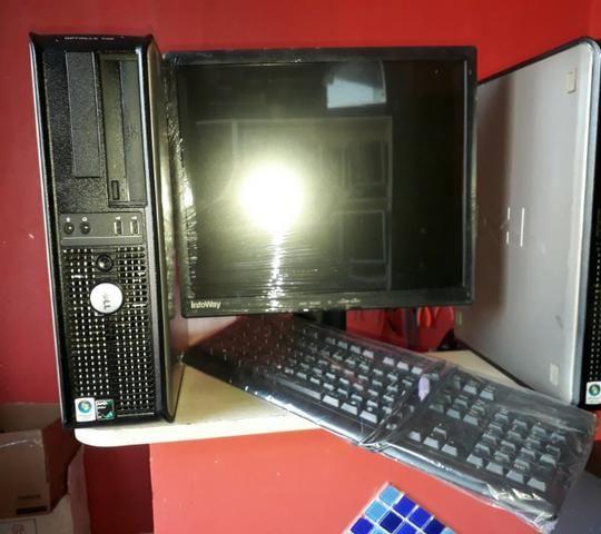 Computador Completo Dell com qualidade, ideal para empresas em geral - Foto 3