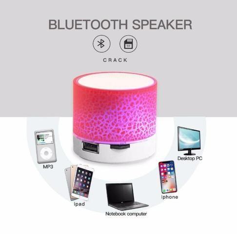 Caixa de Som Iluminada Bluetooth Android - Foto 4