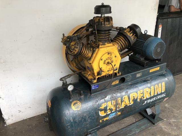 Compressor 7,5 hp 10 cv 40 pes - Foto 2