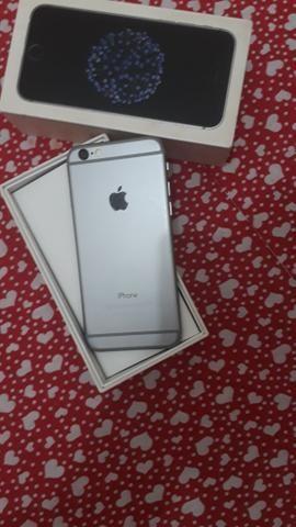 Iphone 6 prata 32 GB semi novo, nunca foi aberto, Icloud livre - Foto 3
