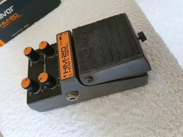 Vendo Pedal de Guitarra Oliver HM-20