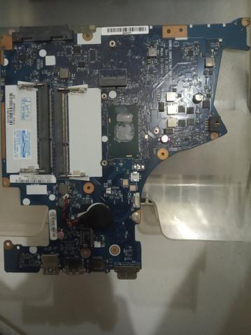 Placa Mãe Lenovo para retirada de peças - Foto 2