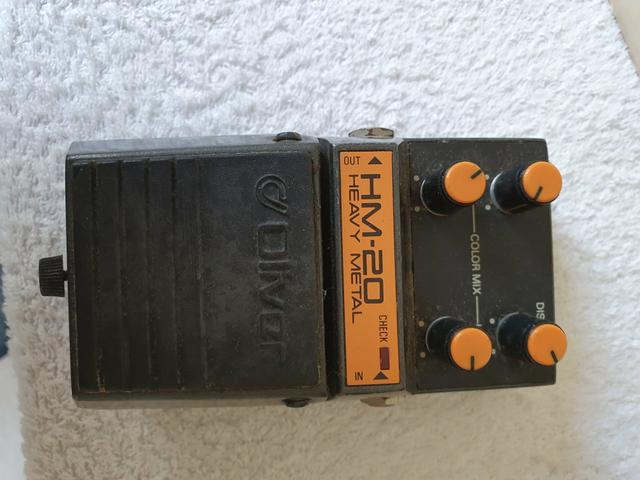 Vendo Pedal de Guitarra Oliver HM-20 - Foto 2