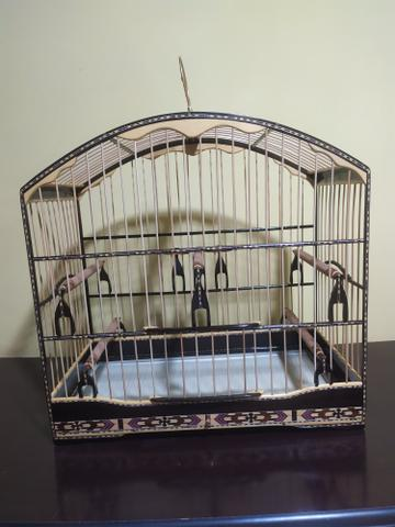 Gaiola de trinca ferro luxo - Foto 2