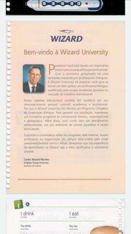 Livros wizard Inglês do w2 até o w12 ++ brinde wizard francês ++ wizard espanhol - Foto 3