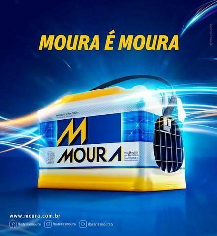Bateria Moura 60ah por apenas 5x 70,00. Entrega e instalação gratuita