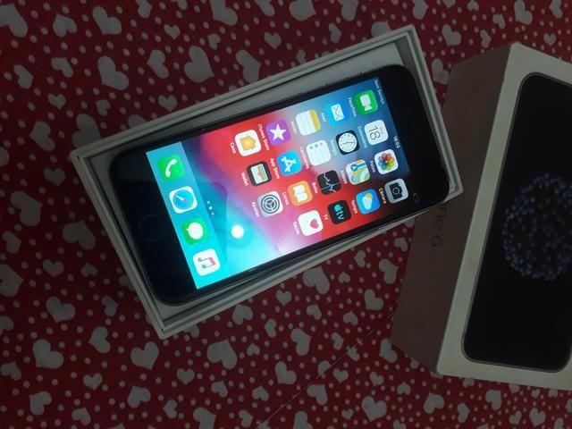Iphone 6 prata 32 GB semi novo, nunca foi aberto, Icloud livre - Foto 2