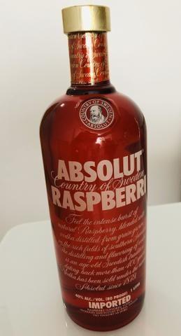 Vodka Absolut Raspberri, Importada.