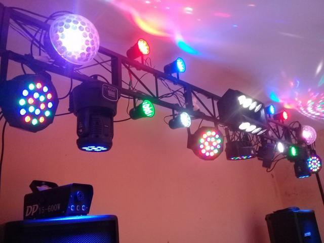Equipamento profissional de iluminação