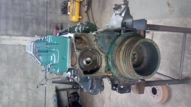 Motor MB O400 449 5 cilindros - Foto 4
