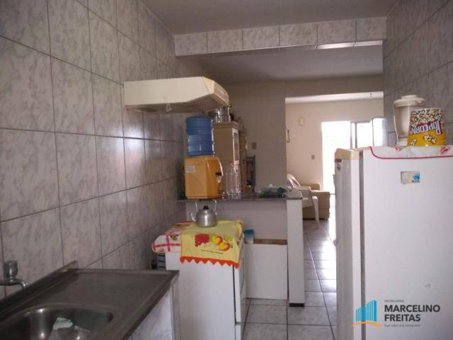Apartamento com 3 dormitórios para alugar, 80 m² por R$ 859,00/mês - Icaraí - Caucaia/CE - Foto 13