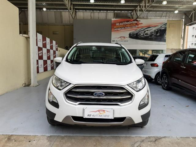 Ford 2018 Ecosport titanium Automatico completa branca apenas 15000 km impecável - Foto 3