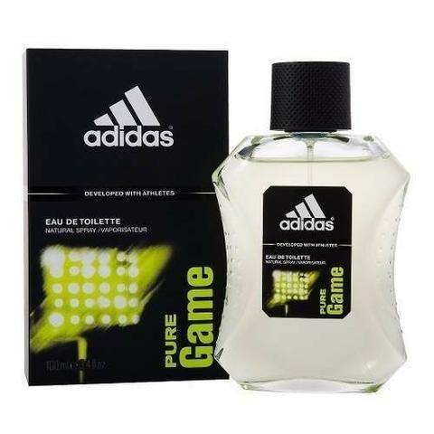 Perfume Adidas Pure Game Masculino 100ml Original Novo