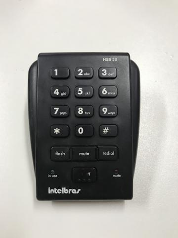 Headset Intelbras Hsb 20 para telemarking