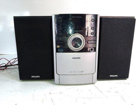 Radio Philips MCM 166, MP3 LINK, USB e CD - Foto 2