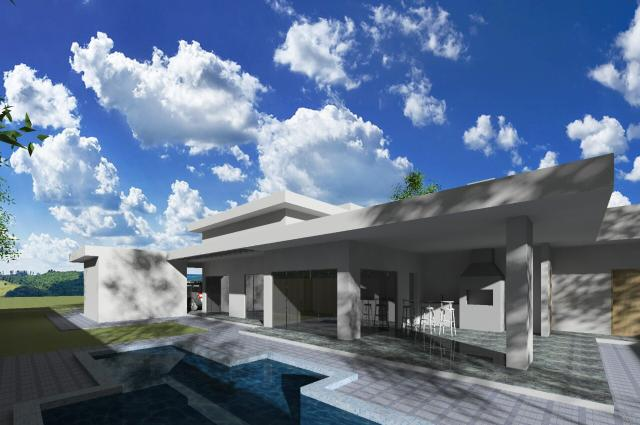 Maravilhosa casa 3 suítes com piscina no CONDOMÍNIO ESTÂNCIA QUINTAS DA ALVORADA - Foto 4