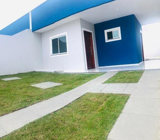 WS casa nova casa com 2 quartos, 2 banheiros em condominio - Foto 8