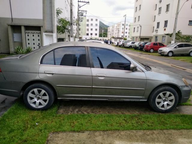 Honda Civic LX 1.7 Aut 2001 $7,000,00 (Vendo ou Troco ) - Foto 3