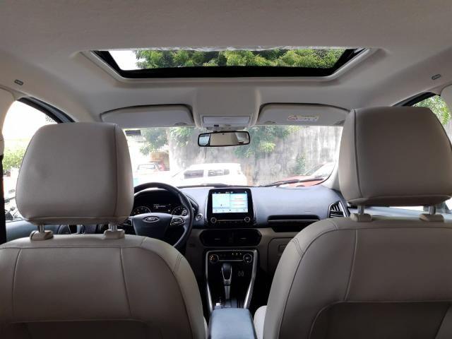 Ford 2018 Ecosport titanium Automatico completa branca apenas 15000 km impecável - Foto 10