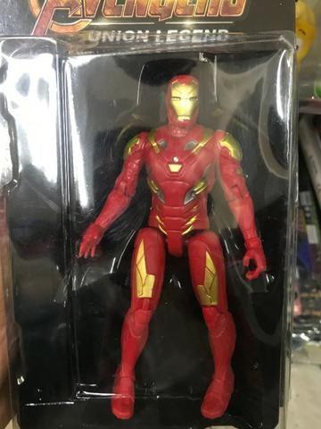 Boneco Homem De Ferro Vingadores Marvel Action Figure