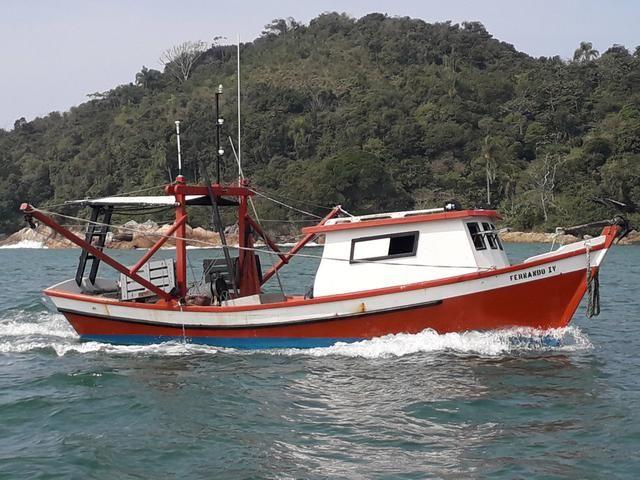 Bote de arrasto camarão