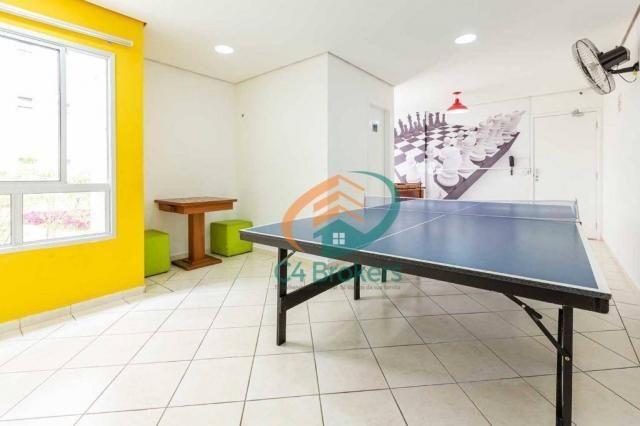 Apartamento com 3 dormitórios à venda, 63 m² por R$ 335.000,00 - Vila Miriam - Guarulhos/S - Foto 9
