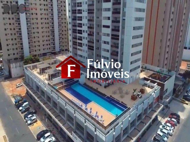 Apartamento com 1 Quarto, Andar Alto, Condomínio Completo em Águas Claras.