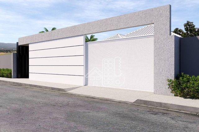 Casa com 3 dormitórios à venda, 100 m² por R$ 495.000,00 - Jardim Atlântico Leste (Itaipua - Foto 5