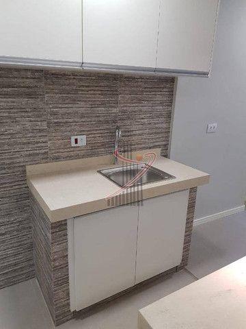 Apartamento no Ed. Grand Prix, com suíte, cozinha americana, vaga de garagem - reformado! - Foto 4