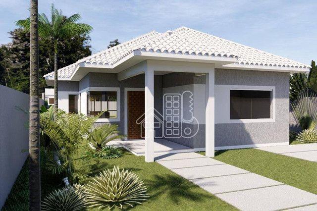 Casa com 3 dormitórios à venda, 100 m² por R$ 495.000,00 - Jardim Atlântico Leste (Itaipua - Foto 2